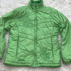 Columbia down spring outdoors girl jacket small